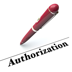 Borrower's Signature Authorization