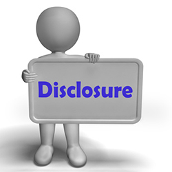 Mortgage Transfer Disclosure
