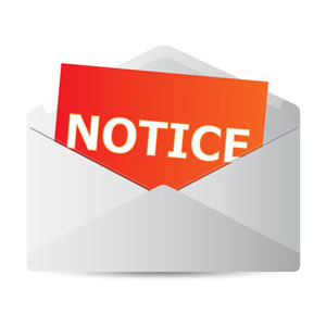Notice To Assignee